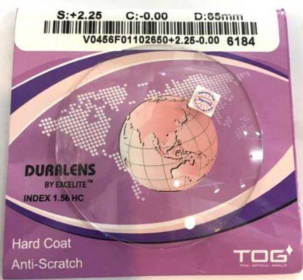 Tròng kính giảm trầy xước TOG - Thái lan