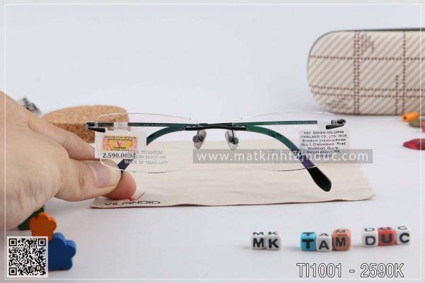 Gọng kính Pure-titanium carizo chính hãng thái lan