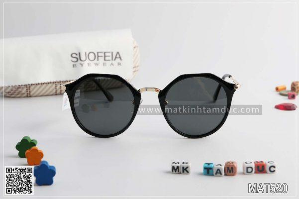 Kính mát Hàn Quốc SUOFEIA MAT520 chính hãng - giảm giá 20%