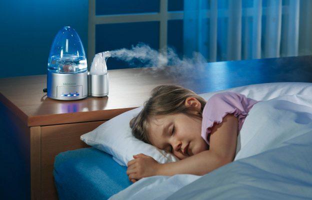 sử dụng máy điều chỉnh độ ẩm để hạn chế khô mắt