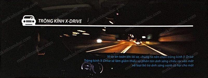 tròng kính chemi X-drive là một sản phẩm của tương lai