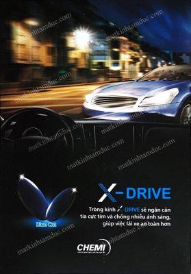Đánh bật mọi tia UV và tia ánh sáng xanh có hại cho mắt với chemi X-drive