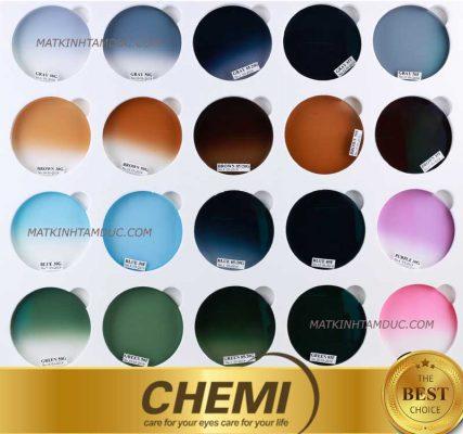 Kính Râm Cận chính hãng Chemi Hàn Quốc có 20 màu tiêu chuẩn