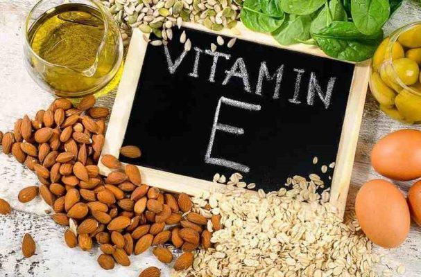 Nhóm thực phẩm giàu vitamin E