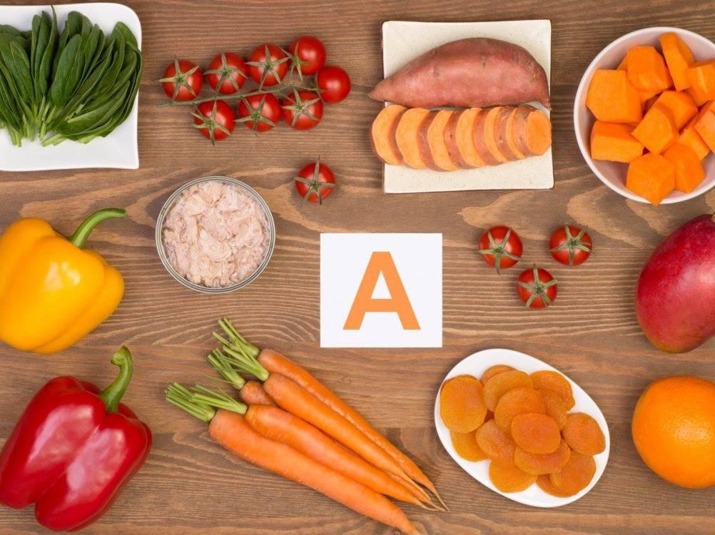 Nhóm thực phẩm tốt cho mắt giàu vitamin A